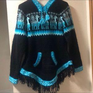 Kactus Artesanias - Hooded Alpaca Sweater